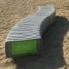 Banco espina de plàstico reciclado