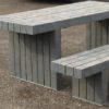 Mesa picnic Diseño de plástico reciclado
