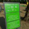 Señal Placa plástico reciclado