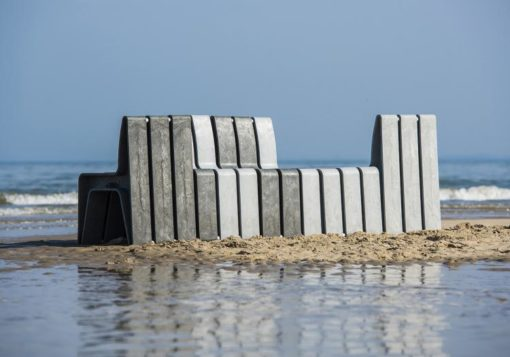 Banco Estil de plástico reciclado 6
