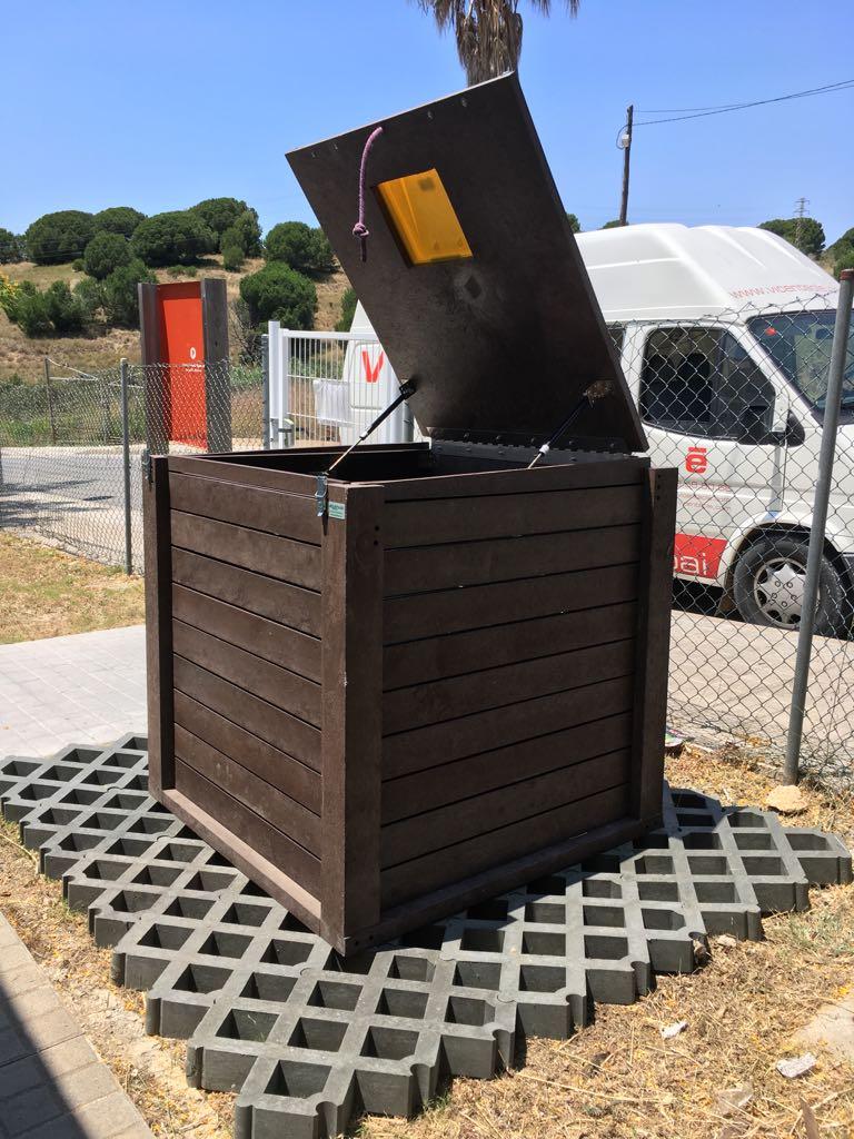Compostador plàstic reciclat